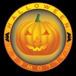 Halloween sign — Stock Vector
