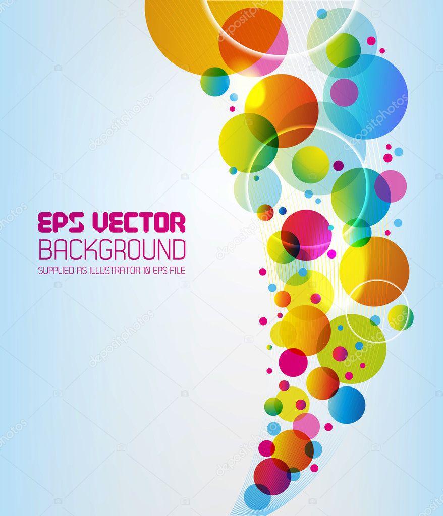 Абстрактный фон - круги — Стоковое ...: ru.depositphotos.com/9119851/stock-illustration-abstract-background...