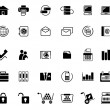 Royalty-Free Stock Vector Image: Icon set - web icons