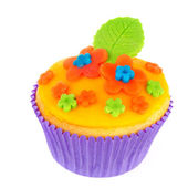 Colorful cupcake — Stock Photo