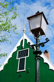типичный голландский старый свет полюс — Стоковое фото