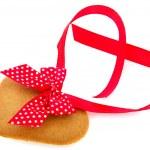 Ginger bread heart — Stock Photo #8023448