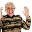 Happy middle aged woman - Stock Photo