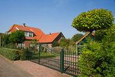 Beautiful Dutch house — Stock Photo