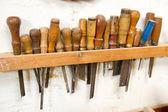 Stare narzędzia pracy — Zdjęcie stockowe