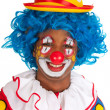 Royalty-Free Stock Photo: Portrait funny clown