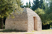 Ancient Bories hut in French Provence — Stock Photo