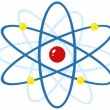 Colorful Atom - Stock Photo