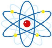 カラフルな原子 — ストック写真