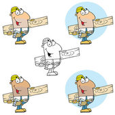 Carpenter Man — Stock Photo