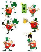 Happy Leprechauns — Stock Photo