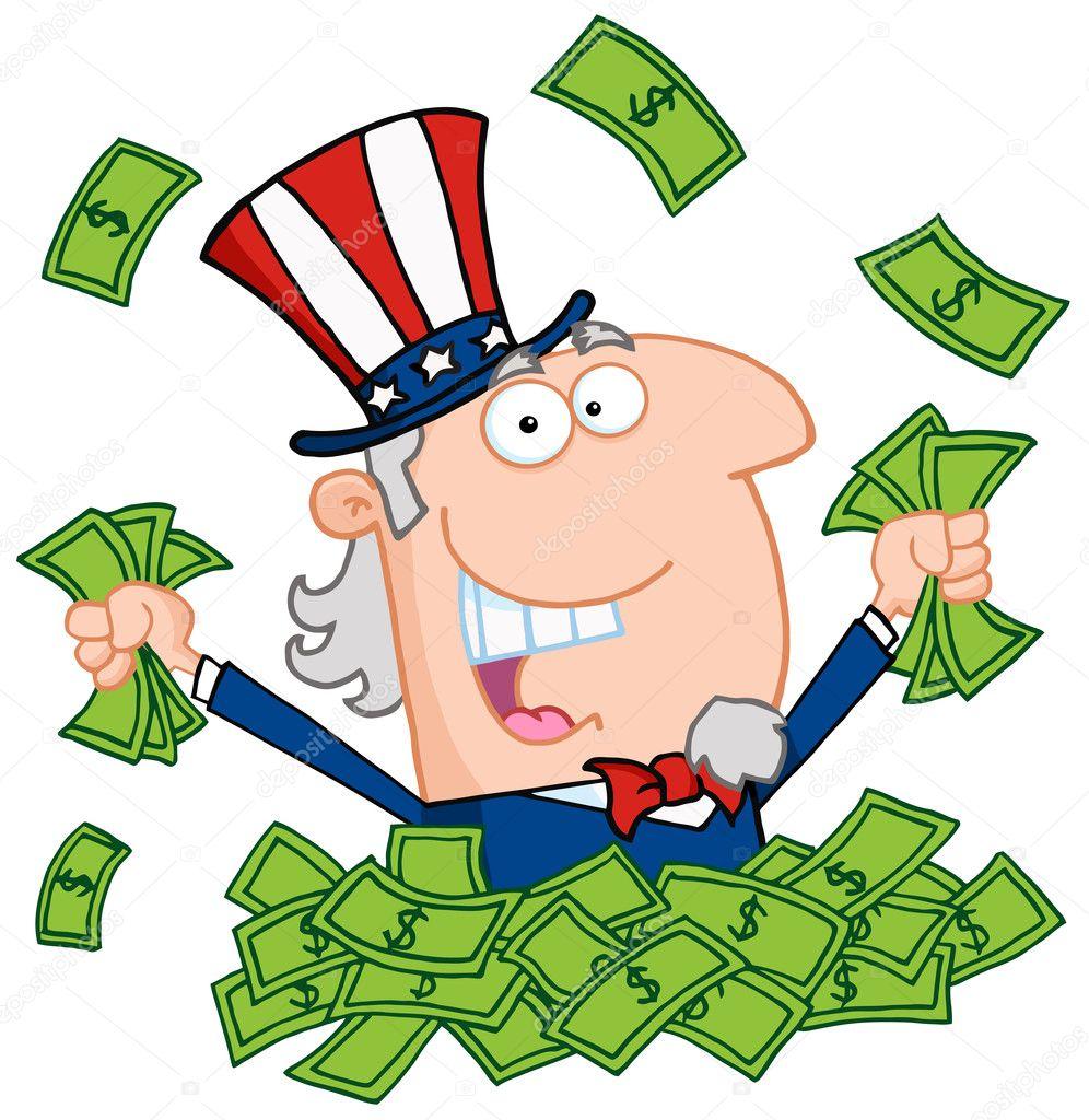 pile of money clipart - photo #33