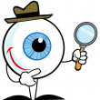 Stock Photo: Detective Eyeball