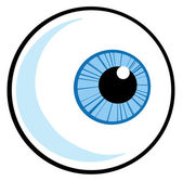 Eye Ball — Stock Photo