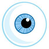 One Blue Eye Ball — Stock Photo