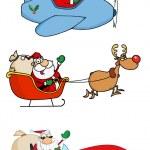 Santa Claus Transportation — Stock Photo #9645914