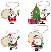 Santa Claus Cartoons — Stock Photo