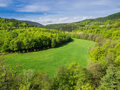 View to the Thuringian Forest — Stock Photo