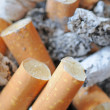 Stock Photo: Cigaret ends and ashes