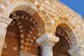 Antiguos arcos árabes en brindisi, italia — Foto de Stock