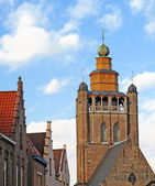 Church of Jerusalem in Bruges — Stock Photo