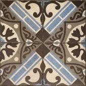 Seamless antique tiles — Stock Photo