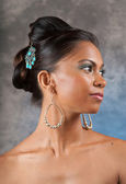 Adorable and beautiful East Indian Woman — Stock Photo