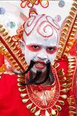 Youn Male Carnival Reveler — Stock Photo