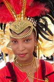 Young Carnival Reveler — Stock Photo