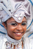Young Carnival Reveler — Stock Photo
