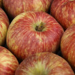 Red apples closeup — Stock Photo #9051955