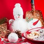 Snowman — Stock Photo #8164314