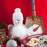Snowman — Stock Photo #8164316