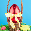 chocolate egg — Stock Photo