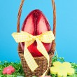 Chocolate egg — Stock Photo #9178496