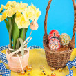 Easter still life — Stock Photo #9536348