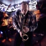 Saxophonist — Stock Photo #8746835