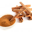 Stock Photo: Cinnamon.