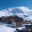 Views of Val Thorens ski resort, France - 