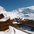 View on Val Thorens — 图库照片
