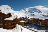 View on Val Thorens — Stok fotoğraf