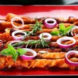 Shashlik — Stock Photo