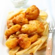 Fish and chips - Foto de Stock