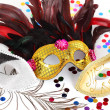 Carnival masks — Stock Photo #8369463