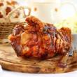 Grilled knuckle of pork — Stock Photo #8741270