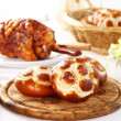 Pretzel bread rolls - Stock Photo