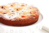 Apple cheesecake — Stock Photo