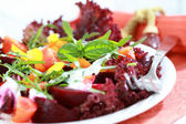 Mixed beetroot salad — Stock Photo