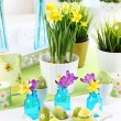 Place setting for Easter — Stock Photo #9577315