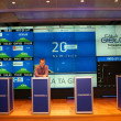 Royalty-Free Stock Photo: Open day on the Warsaw Stock Exchange